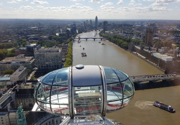 London Eye, Themse, Palace of Westminster, Big Ben